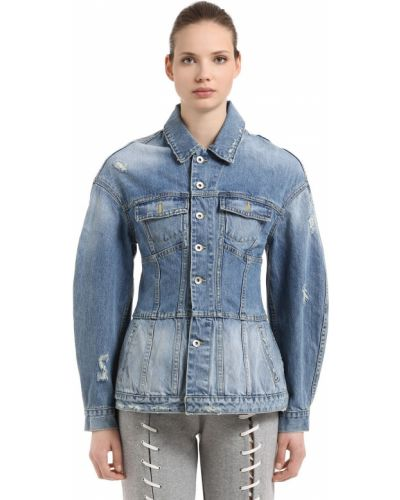Джинсовый пиджак - синий Jonathan Simkhai