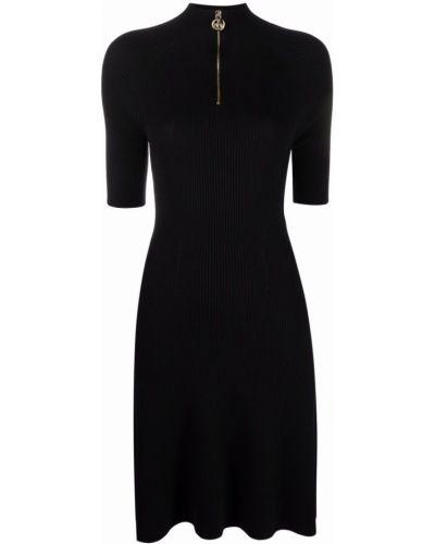 Шелковое платье - черное Lanvin