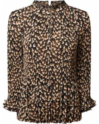 Czarna bluzka z raglanowymi rękawami S.oliver Black Label