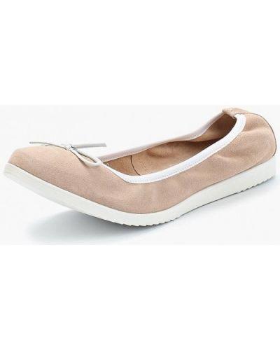 Розовые балетки Tamaris