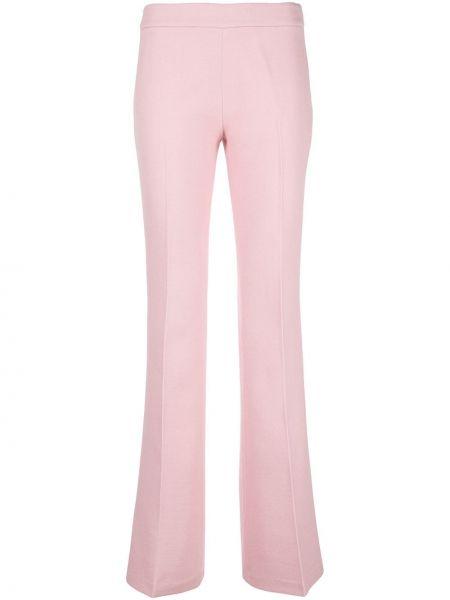 Шерстяные брюки - розовые Giambattista Valli