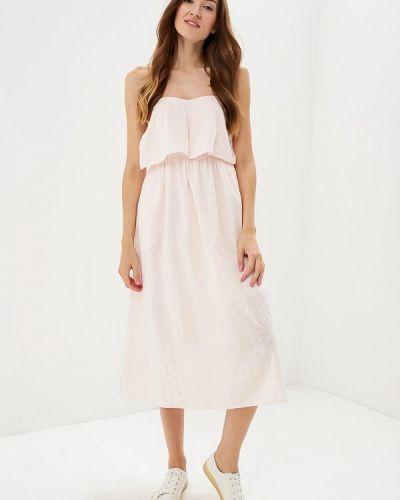 Розовое платье бандо Dorothy Perkins