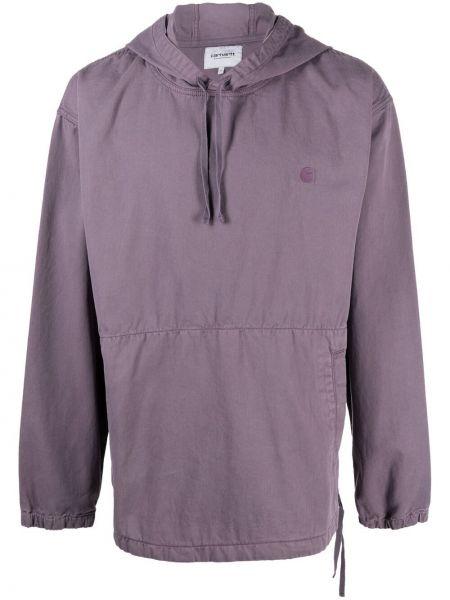 Фиолетовая кофта с капюшоном Carhartt Wip