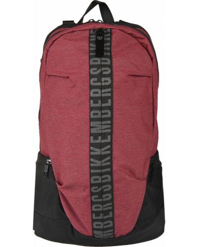 Текстильный рюкзак - бордовый Bikkembergs