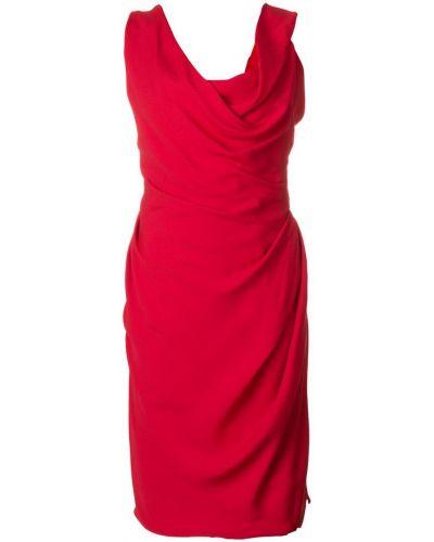 Платье с V-образным вырезом с открытой спиной Vivienne Westwood