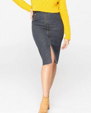 Серая джинсовая юбка Musthave