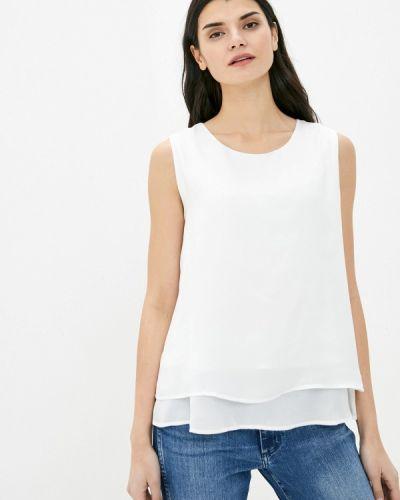 Белая блузка без рукавов Taifun