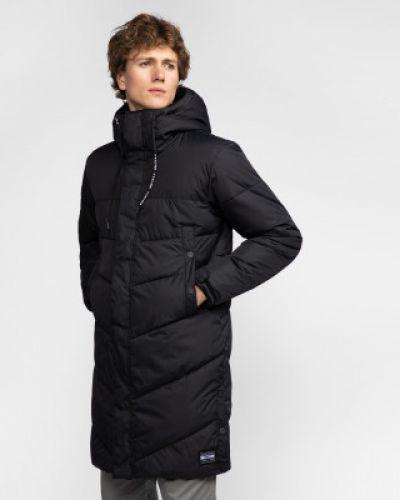 Куртка с капюшоном утепленная черная Termit