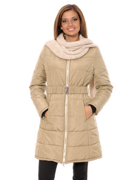 Шерстяное пальто - бежевое Mor`a
