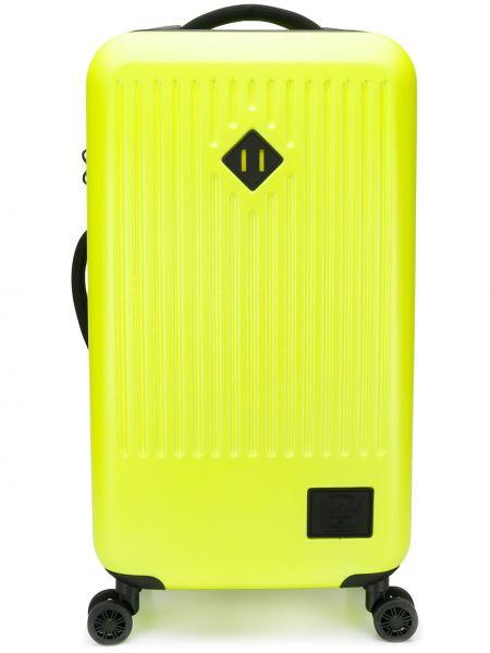 Walizka z logo żółty Herschel Supply Co.