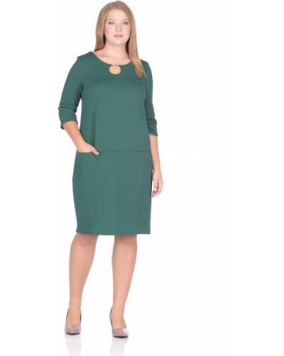 Свободное с рукавами модное платье Rosa Blanco