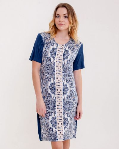 Платье весеннее синее Pastunette