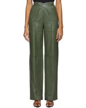 Брючные прямые брюки с воротником с поясом Situationist