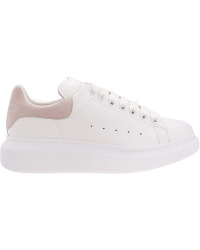 Sneakersy wysokie - białe Alexander Mcqueen