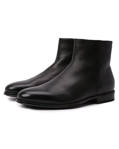 Черные итальянские сапоги Doucal's