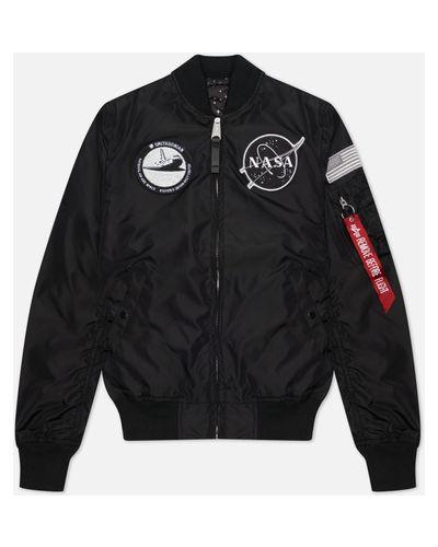 Нейлоновая куртка MA-1 с подкладкой Alpha Industries