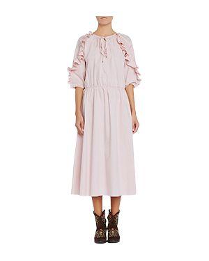 Повседневное платье розовое Blugirl