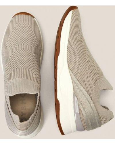 Бежевые кроссовки Oysho