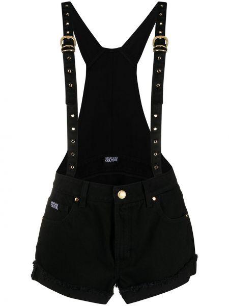 Джинсы с вышивкой mom Versace Jeans Couture