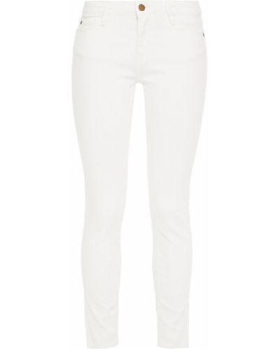 Синие зауженные джинсы-скинни с вышивкой Ba&sh