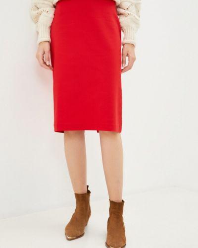 Красная юбка узкого кроя Remix