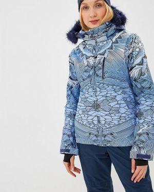Горнолыжная куртка весенняя синий Roxy