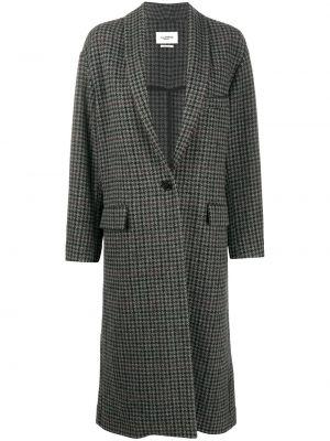 Шерстяное пальто - серое Isabel Marant Étoile