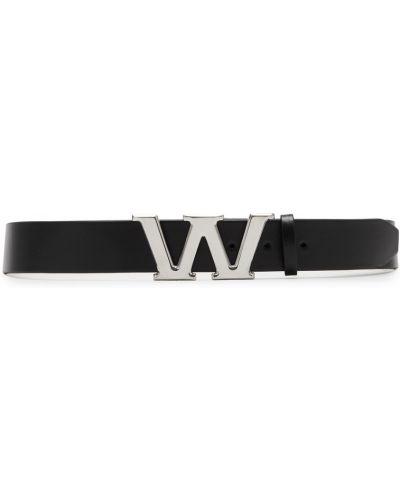 Ремень металлический черный Alexander Wang