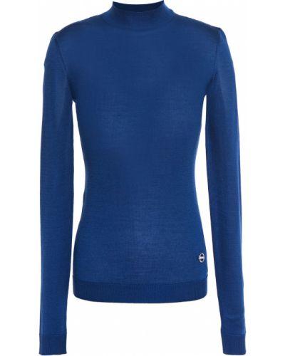 Шелковый синий свитер Emilio Pucci
