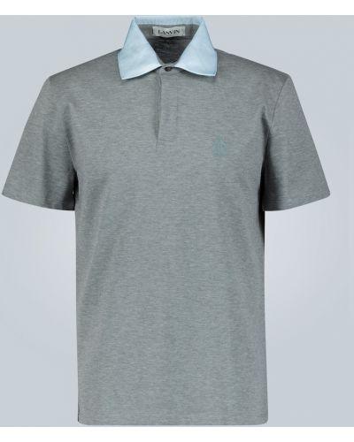 Koszulka polo z logo Lanvin