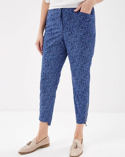 Синие брюки Silver String
