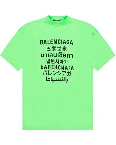 T-shirt krótki rękaw bawełniany oversize Balenciaga