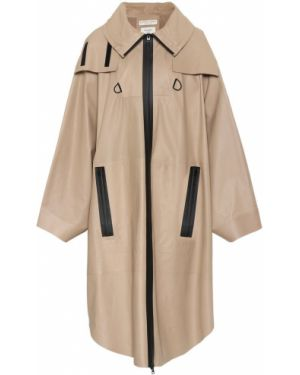 Кожаная куртка жёлтая водонепроницаемый Bottega Veneta