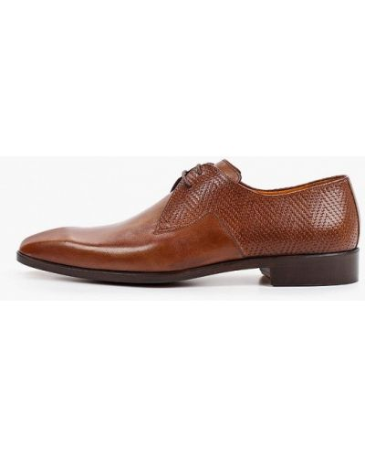 Коричневые весенние туфли Dgs52