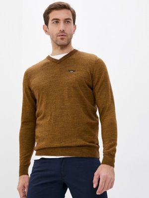 Пуловер - коричневый Galvanni