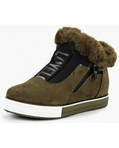 Высокие кеды замшевые Ideal Shoes®