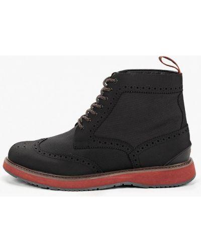 Текстильные ботинки - черные Swims