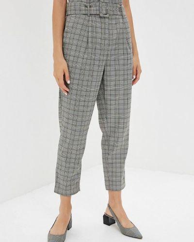 Серые зауженные брюки Glamorous