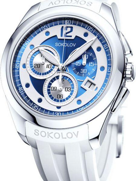 Водонепроницаемые часы с подсветкой кварцевые Sokolov