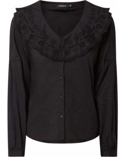 Czarna bluzka bawełniana z raglanowymi rękawami Soaked In Luxury