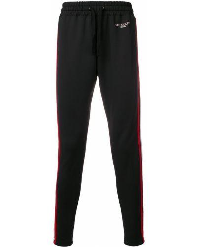 Спортивные брюки зауженные черные Not Guilty Homme