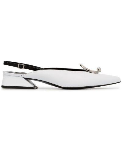 Туфли-лодочки с открытой пяткой с пряжкой на каблуке Yuul Yie