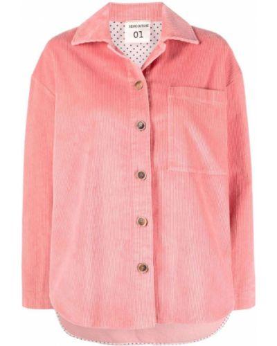 Różowa klasyczna koszula Semicouture