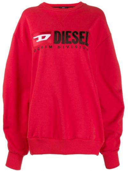 Толстовка красный Diesel