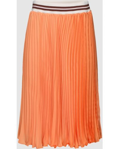 Оранжевая юбка миди Blugirl