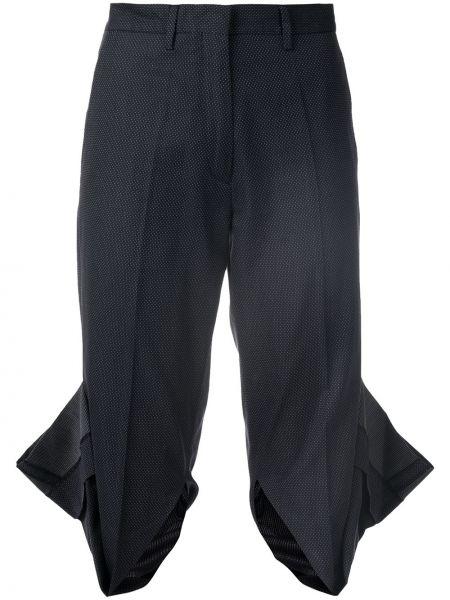Черные брюки винтажные с поясом на молнии Maison Martin Margiela Pre-owned