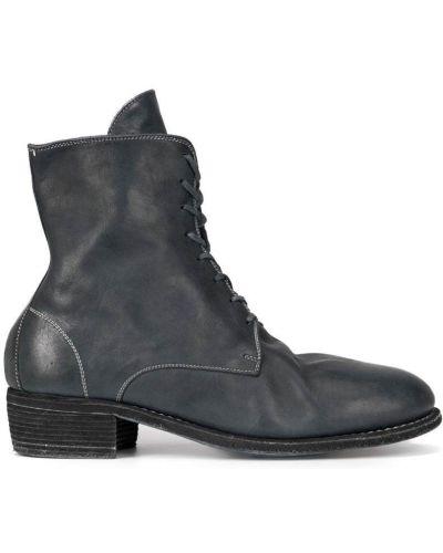 Ботильоны кожаный для обуви Guidi