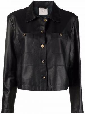 Czarna klasyczna kurtka Alysi