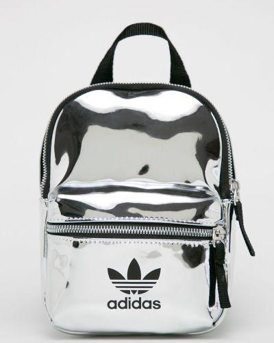 Белый кожаный рюкзак Adidas Originals