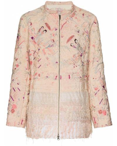 Розовая куртка By Walid